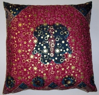 DW14 untreated cotton Dutch wax print pillow cover
