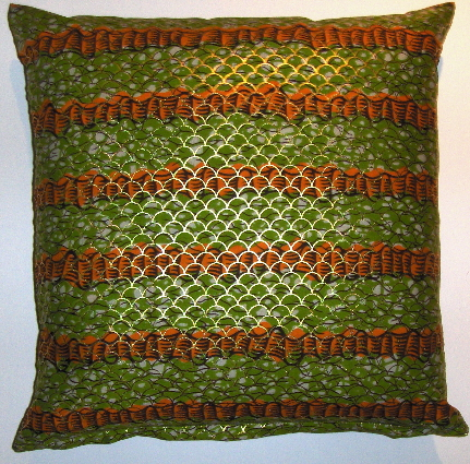 DW20 untreated cotton Dutch wax prined pillow cover