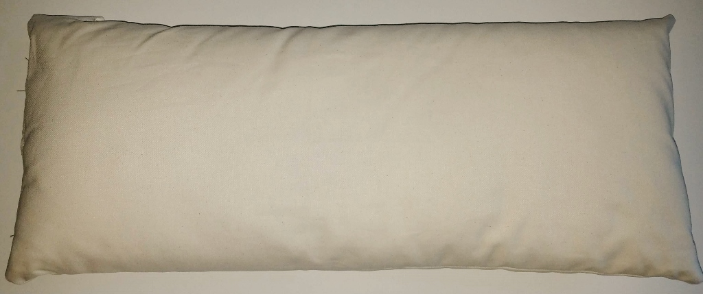 "Kapok filled pillow insert : 12""x24"""