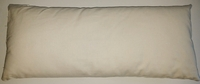 "Kapok filled pillow insert : 10""x24"""