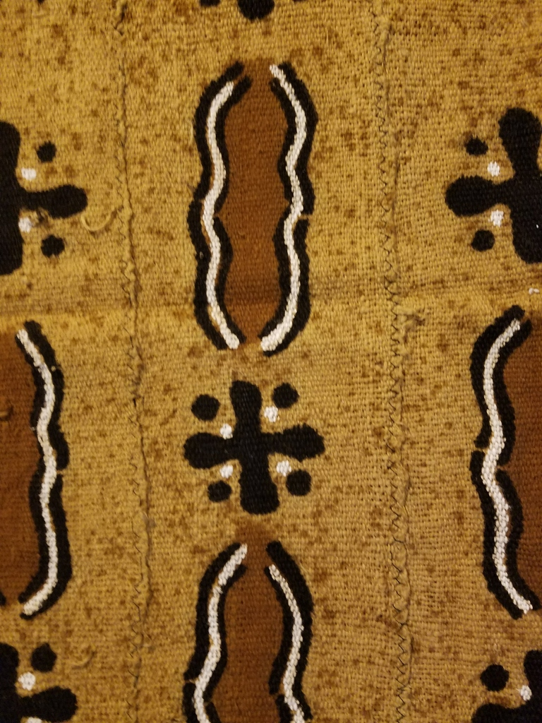 MDTH2 Bogolanfani Mudcloth Throw
