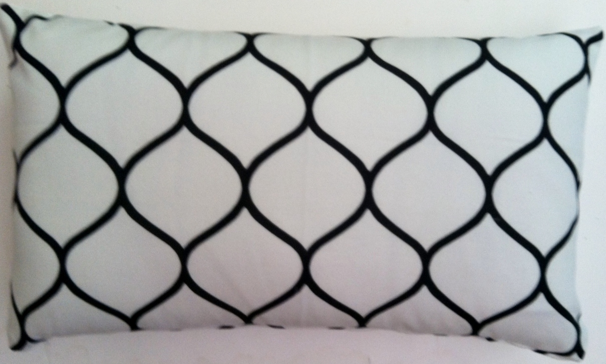 OC51 Printed organic cotton pillow cover