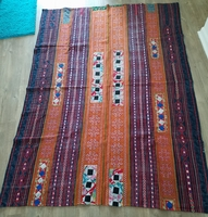 THVTG20 Vintage Hmong Hill tribe throw/bedcover