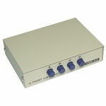 4 Port Manual USB Switchbox, Beige