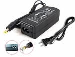 Acer Aspire One 531h-1766, AO531h-1766 Charger AC Adapter Power Cord