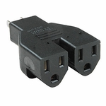 Adapter Nema 5-15p To 5-15rx2