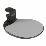 Aidata Mouse Platform, Under Desk Mount, Black