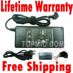 Asus A45VM, A55VM Charger, Power Cord