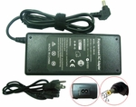 Asus A84E, A84SJ, A84TK Charger, Power Cord