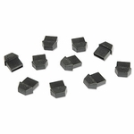 Caps For Type A USB Jacks, 10 Pack