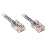 CAT5e Patch Cable, 10 Ft, Grey