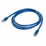 CAT6 Patch Cable, W/ Boot 5ft, Blue