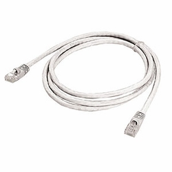 CAT6 Patch Cable, W/ Boot 5ft, White
