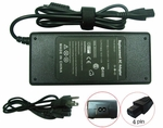 Compaq Liteon 204336-001, 204434-001 Charger, Power Cord