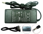 Compaq Presario 18.5v 4.9a, 90 Watt AC Adapter Charger, Power Cord, 4.8x1.73 plug