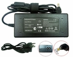 Compaq Presario 18.5v 4.9a, 90 Watt AC Adapter Charger, Power Cord, 5.5x2.53 plug