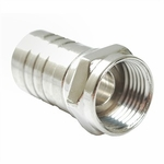 Crimp-on F Connector For Rg56/rg6