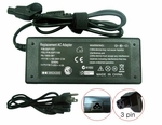 Dell 0003556D, 3556D, 4983D Charger, Power Cord