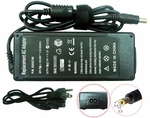Fujitsu LifeBook E8020D, E8110, E8210 Charger, Power Cord