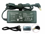 Gateway Solo 9100LS, 9100SE, 9100XL Charger, Power Cord