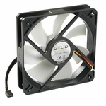 Gelid Silent12 120mm Silent Case Fan, 3 Pin Molex