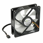 Gelid Silent9 92mm Silent Case Fan, 3 Pin Molex