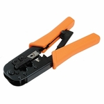 Heavy Duty Modular Plug Crimping Tool, Ratcheting