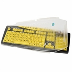 Keys-u-see Lg Keyboard Biosafe Keyboard Cover
