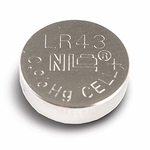 Lr43 Button Cell Battery, 10pk