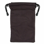Micro Fiber Gadget Bag, Black