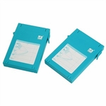 Mukii 2.5in HDD Protector, 2-pack, Blue