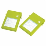 Mukii 2.5in HDD Protector, 2-pack, Green