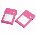 Mukii 2.5in HDD Protector, 2-pack, Pink