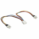 Pwm Fan Power Y-cable, 6 In., 2m/1f