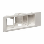 Recessed TV Box W/ Angled Openings, 3-gang