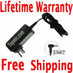 Samsung ATIV Smart PC 4G LTE 700TC Charger, Power Cord