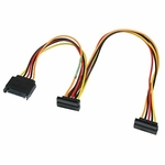 Sata Ii 15-pin Splitter Extension Cable, 16in