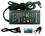 Sony VAIO PCG-GT3 Series, PCG-GT3/K, PCG-N505 Charger, Power Cord
