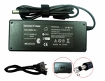 Toshiba Portege 5105-S607, 5105-S608, 5105-S702 Charger, Power Cord