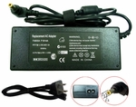 Toshiba Satellite A200-18T, A200-18W, A200-19 Charger, Power Cord