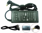 Toshiba Satellite T235D-S1345, T235D-S1345RD, T235D-S1345WH Charger, Power Cord