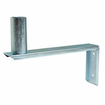 Universal Antenna Wall Bracket, 8in Stand Off
