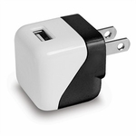 USB Wall Charger, 1 Amp, Black