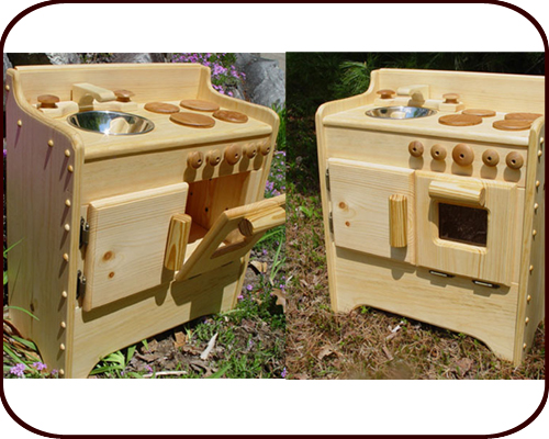 Willow Toys Sandy S Wooden Play Kitchen