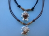Necklace with shell turtle