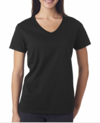 Anvil 88VL Ladies Lightweight V-Neck Tee