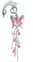 Pink Butterfly Jean Candy