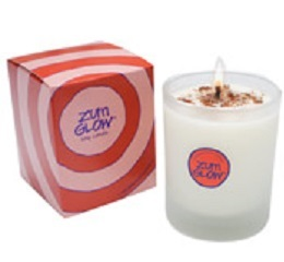 Sandalwood-Citrus Zum Glass Candle (2 left)