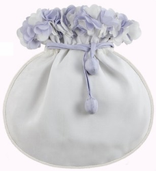 """Something Blue"" Silk Bridal Bag"