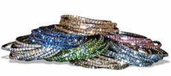 Swarovski Crystal Tennis Bracelet Select Your Color